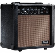 Stagg Model 10 AA USA 10 Watt Acoustic Guitar Combo Amplifier 8 Inch Speake