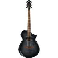Ibanez Exotic Wood AEWC400TKS Acoustic Electric Cutaway Flamed Maple Guitar