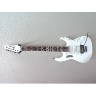 Ibanez JEMJRWH Steve Vai Signature Jem Jr Electric Guitar w/RoadRunner Hard
