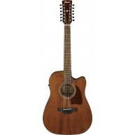 Ibanez Artwood AW5412CEOPN 12 String Dreadnought Size Acoustic Electric Gui