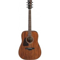 Ibanez Artwood AW54LOPN Open Pore Lefty Dreadnought Size Acoustic Guitar