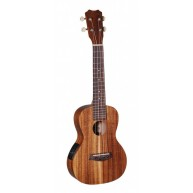 Islander AC-4-EQ Satin Acacia Concert Acoustic Electric Ukulele from Kanile