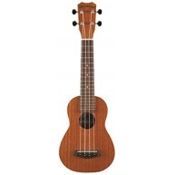 Islander MS-4 Satin Finish Mahogany Soprano Ukulele from Kanile'a