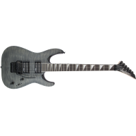 Jackson JS Series JS32Q Arch Top Dinky Transparent Black Electric Guitar -
