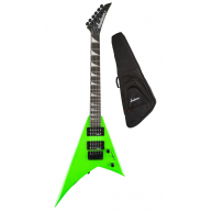 Jackson JS Series RR Minion JS1X Rhoads Mini Electric Guitar Neon Green wit