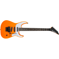 Jackson X Series SL4X Soloist Electric Guitar Neon Orange with Floyd Rose -