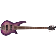 Jackson JS Series Spectra 5 String Bass JS3QV, Laurel Fingerboard, Purple P