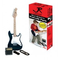 J. Reynolds Mini Electric Guitar Prelude Pack with amp & More - Bodacious B