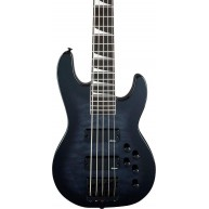 Jackson JS3VQ Limited Concert 5-String Bass Black Burst, Amaranth Fingerboa
