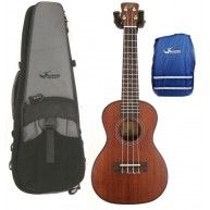 Journey UC310 - Solid Top Mahogany Concert Ukulele with Case and Rain Cover