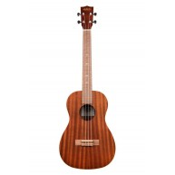 Kala Model KA-B Baritone Size Satin Finish Mahogany Ukulele - Authorized De