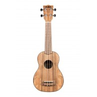 Kala KA-PWS Soprano Size Pacific Walnut Satin Finish Ukulele - Authorized D
