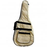 Kona KGGBDH Padded Hemp Shell Dreadnaught Guitar Bag