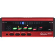 Korg Pitchblack Portable Polyphonic Tuner in Red - Model PB04RD