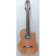 Kremona Artist Fiesta F65CW-TLR Solid Top Acoustic Thin Nylon String Guitar