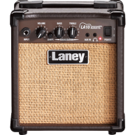 Laney Model LA10 BK Black 10 Watt Acoustic Guitar Combo Practice Amplifier