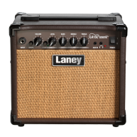 Laney Model LA15C BK Black 15 Watt Acoustic Guitar Combo Practice Amplifier
