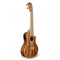 Lanikai Model ACST-CEC Acoustic Electric Solid Acacia Top Concert Ukulele w