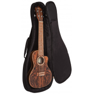 Lanikai FB-CETC Thinline Arched Back Bocote Acoustic Electric Ukulele, Rose