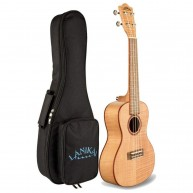 Lanikai FM-C Flame Maple Concert Size Acoustic Ukulele with Padded Gig Bag
