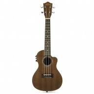 Lanikai  Mahogany Concert Size Satin Finish Electric Acoustic Ukulele # MA-