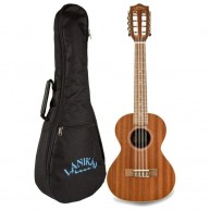 Lanikai Model MA-8T Mahogany Tenor 8 String Ukulele with Gig Bag