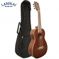 Lanikai Model MA-G All Mahogany Guitar Uke Guitelele Ukulele with Padded Gi