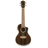 Lanikai Model ZR-CEC Ziricote Concert Size Acoustic Electric Ukulele w/Gig