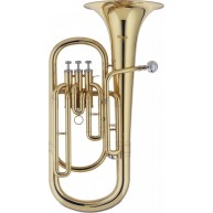 Stagg Model WS-BH235 Bb Baritone Horn with 3 rotary valves in a Hardshell C