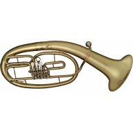 Levante Model LV-BH5605 Bb Pro Baritone Horn with 3 rotary valves in a Case