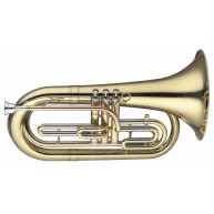 Levante LV-MB5505 Bb Marching Baritone Horn w/ Clear Lacquer 3 pistons in C