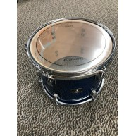 Ludwig Evolution Maple 12x9 Mounted Tom in Blue LCEMTT12XBL