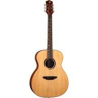 Luna WABI E GC WABI SABI Grand Concert Solid-Top Acoustic-Electric Guitar w