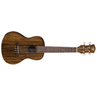 Luna Model UKE ACC Exotic Flamed Acacia Concert Size Ukulele with Gig Bag