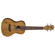 Luna Uke Bamboo Series Concert Size Acoustic Ukulele with Gig Bag