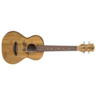 Luna Uke Bamboo Series Tenor Size Acoustic Ukulele with Gig Bag