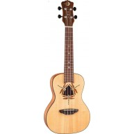 Luna Dragonfly Solid Spruce Top Concert Size Acoustic Ukulele with Gig Bag
