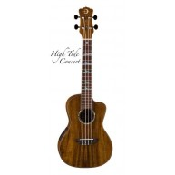 Luna UKE HTC KOA - High Tide Koa Acoustic Electric Concert Ukulele w/Gig Ba