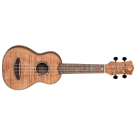 Luna Model UKE HTS EXM High Tide Exotic Mahogany Soprano Size Ukulele with