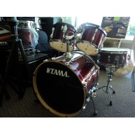 Tama Rockstar 5 piece Shell Pack in Excellent condition - DARK CHERRY RED