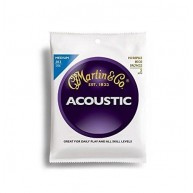 Martin M150 80/20 Bronze Acoustic Guitar Strings, Extra Light - 3 Pack