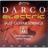Electric Guitar Strings Darco D9100 Nickel Wound Strings, Jazz Light  -SHIP