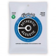 Martin Authentic Acoustic Guitar Strings Extra-Light Gauge 10-47 Model MA53