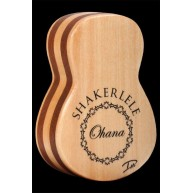 Ohana ukuleles All Solid SPRUCE Shakerlele Ukulele Shaped Shaker by Daniel