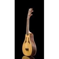 Ohana VK-70R Solid Spruce and Rosewood Soprano Vita Style Ukulele with Bag
