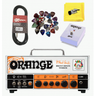 Orange Brent Hinds Terror 15 Watt Tube Amplifier Head, Footswitch Cable Bun