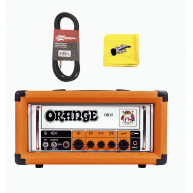 Orange OR15H 7/15 Watt All Tube Guitar Amplifier Head, Cable and Cloth Bund