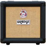 "Orange PC108 Black 1"" x 8"" speaker Cabinet - Perfect for use with the Micro"
