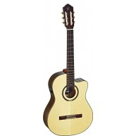 Ortega RCE158SN Pro Slim Neck Electric/Acoustic Classical Guitar  - Blem #X