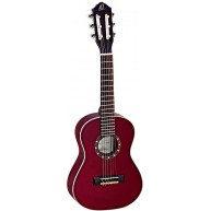 Ortega R121-1/4 WR Wine Red 1/4 Size 6 String Classical Guitar - Blem #XZ90